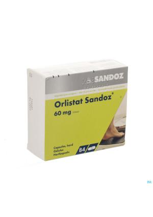 Orlistat Sandoz Caps Dure 84 X 60mg2875425-20