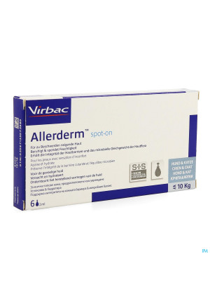 Allerderm Spot-on Pipet 6x2ml2876068-20