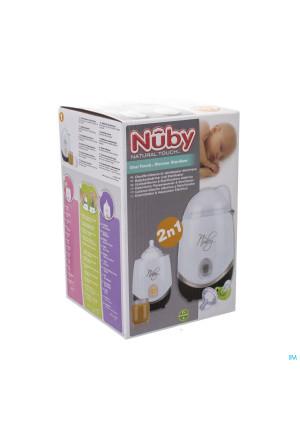 """Nûby Stérilisateur et chauffe biberon """"One Touch""""2881407-20"""