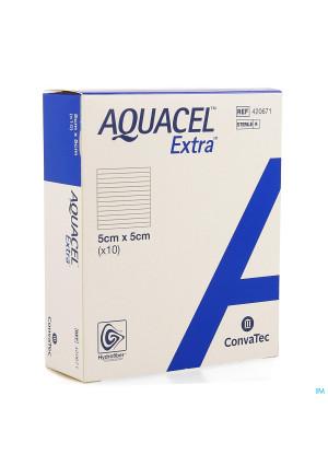 Aquacel Extra Pans Hydrofiber+renf.fibr. 5x 5cm 102881654-20