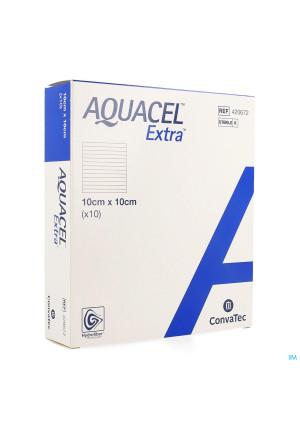 Aquacel Extra Pans Hydrofiber+renf.fibr.10x10cm 102881662-20