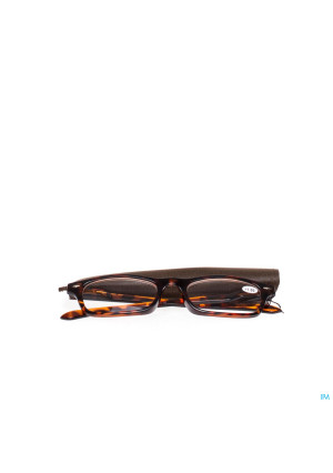 Pharmaglasses Lunettes Lecture Diop.+1.00 Brown2906832-20
