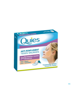 Quies A/ronflement Bandelette Nasale Petit 242918944-20