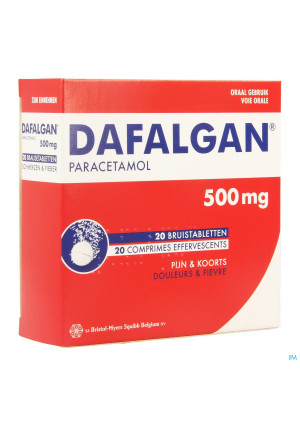 Dafalgan Eff 500mg Comp 202933901-20