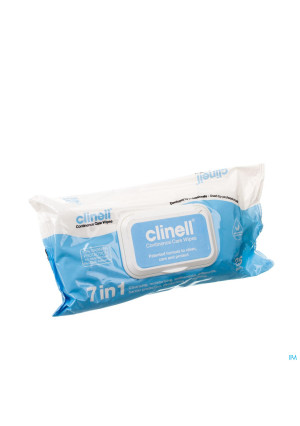 Clinell Continence Care Wipes 25 Pcs2951820-20