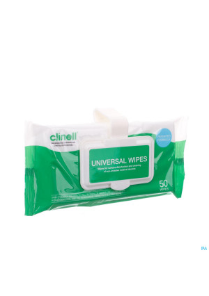 Clinell Universal Wipes Clip Pack 502951846-20