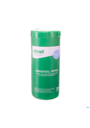 Clinell Universal Wipes Tub 100 Pcs2951879-20
