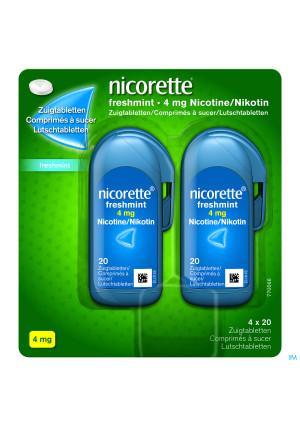 Nicorette Freshmint Comp A Sucer 80x4mg2952398-20