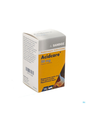 Acidcare 20mg Sandoz Caps Gastro Res 14 X 20mg2976868-20