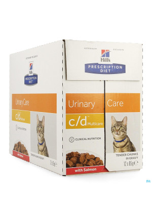 Hills Prescrip.diet Feline Cd Salmon 12x85g 1882u2979813-20