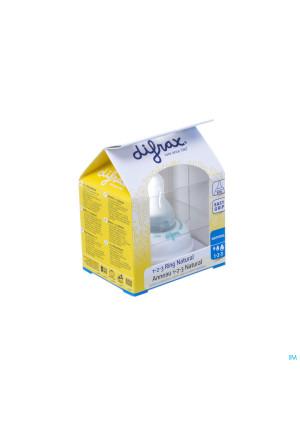Difrax Bague De Serrage 1-2-3 Natural 7133006368-20