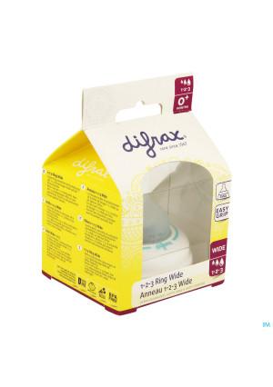 Difrax Bague De Serrage 1-2-3 Natural Wide 7143006376-20