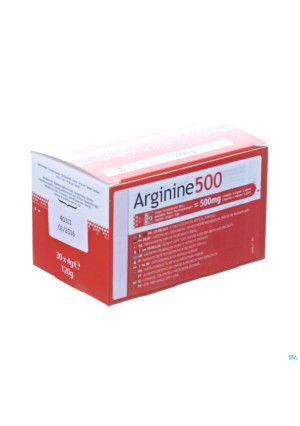 Arginine 500 Pdr Sachet 30x4g3012309-20