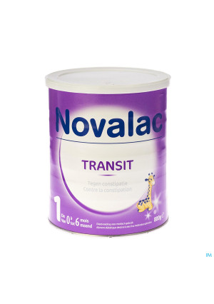 Novalac Transit 1 Lait Nourrissons Pdr 800g3020039-20