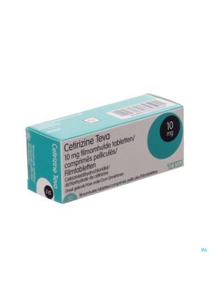 Cetirizine Teva 10mg Comp Pell 503028057-20