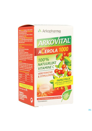 Arkovital Acerola 1000 Familypack Tabl A Macher 603047370-20