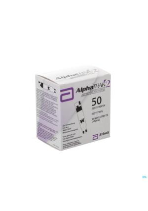 Alphatrak Controle Glycemie Bandelettes 503050499-20