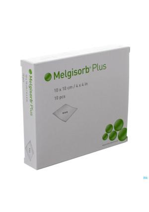 Melgisorb Plus Cp Ster 10x10cm 10 2522003057510-20