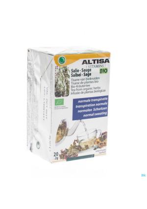 Altisa Tisane Sauge Bio 20x2g3075975-20