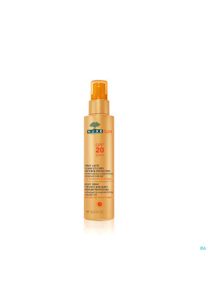 Nuxe Sun Spray Lacte Visage-corps Ip20 Fl P.150ml3086378-20