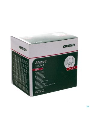 Alupad Tracheo Compresse Ster 8x10cm 1 41750663087418-20