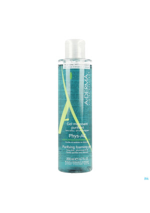 Aderma Phys-ac Gel Moussant Purifiant 200ml3097664-20