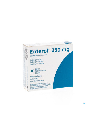 Enterol 250mg Pi Pharma Pulv Sach 10 X 250mg Pip3110517-20