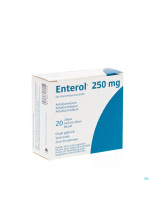 Enterol 250mg Pi Pharma Pulv Sach 20 X 250mg Pip3110525-20
