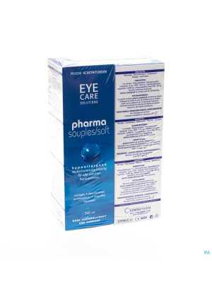 Eye Care Pharma Souple Duo Pack Sol Entret.2x360ml3114139-20