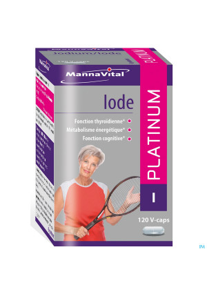 Mannavital Iode Platinum V-caps 1203115953-20