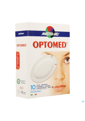 Optomed Cp Oculaire Adh S/latex 96x66mm 10 701183118619-20