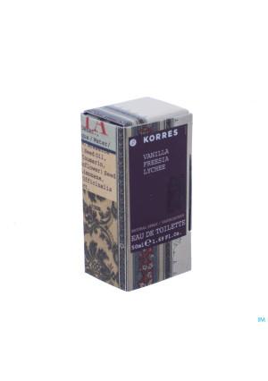 Korres Kb Fragrance Vanille Fresia Lychee Edt 50ml3125150-20