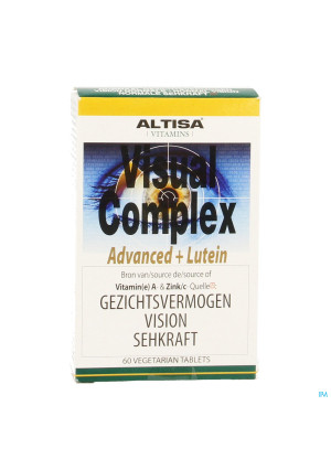 Altisa Visual Complex Advanced+luteine Tabl 603134426-20