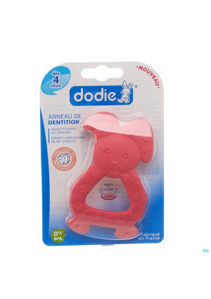 Dodie Anneau Dentition Lapin Rose3135456-20