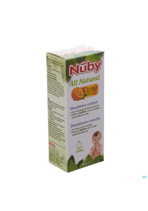 Nuby Citroganix Dentifrice enfant– 45g 24m+3142213-20