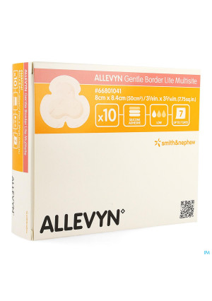 Allevyn Gentle Border Lite Multisite 10 668010413144821-20