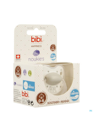 Bibi Noukies Sucette Dental Stars Ng 0 6m3154457-20