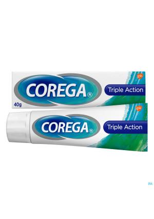 Corega Triple Active Cr Adh Prothese Dentaire 40g3161080-20