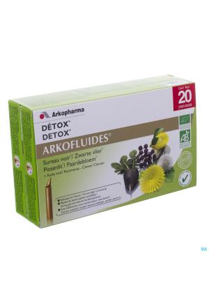 Arkofluide Detox Bio Unicadoses 20 Rempl.26220743179660-20
