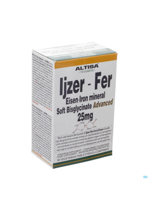 Altisa Fer Bisglycinate 25mg Tabl 903194289-20
