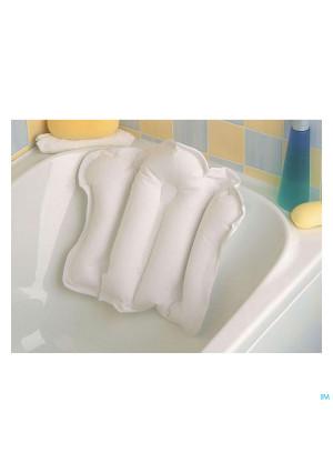 Coussin Gonflable Pour La Baignoire Avec Revêtement En Tissu éponge 53,3 X 40 Cm Blanc 072311-aa18233201191-20
