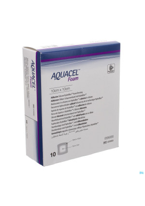 Aquacel Pans Mousse Adh Hydrofiber 10,0x10,0cm 103207255-20