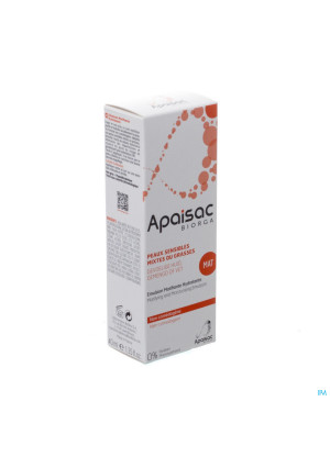 Apaisac Biorga Emulsion Matifiante Hydra 40ml3215837-20