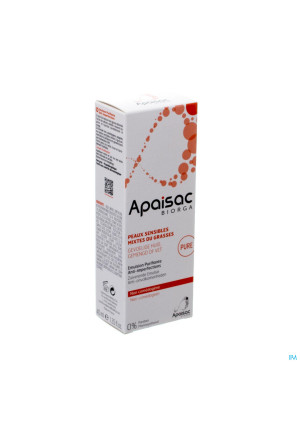 Apaisac Biorga Emulsion Purifiante A/imperf. 40ml3215845-20