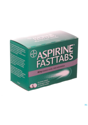 Aspirine Fasttabs 500mg Comp Pell 403237880-20