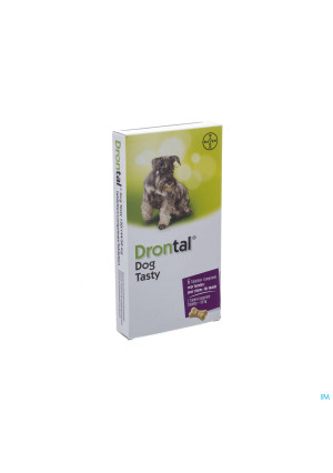 Drontal Tasty Bone 150/144/5mg 10kg Dog Comp 63245701-20