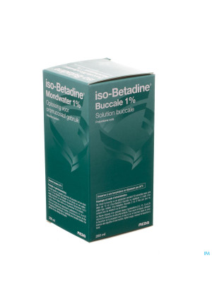 Iso Betadine 1% Nf Sol Bucc 200ml Ready To Use3255700-20