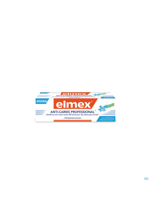 DENTIFRICE ELMEX® ANTI-CARIES PROFESSIONAL™ JUNIOR 6-12 TUBE 75ML3259306-20