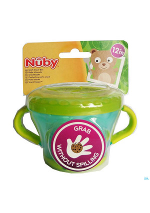 Nuby Boîte à biscuits 12m+ 3265022-20