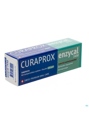 Curaprox Enzycal 1450 Dentifrice Tube 75ml3274065-20